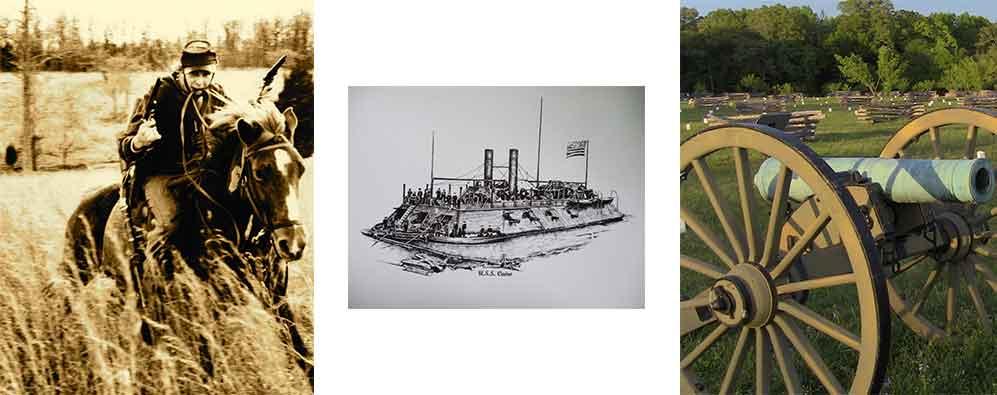 Navy, Cavalry & Infantry