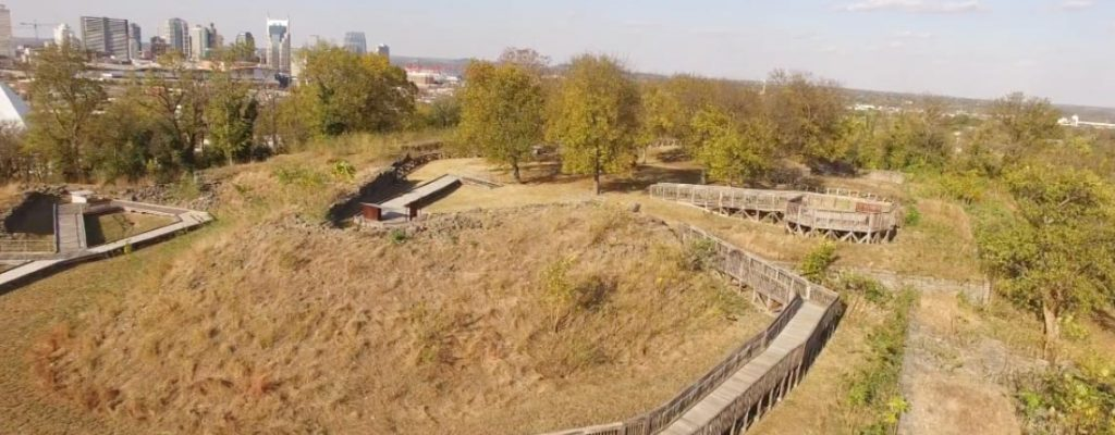 Fort Negley Fly-By