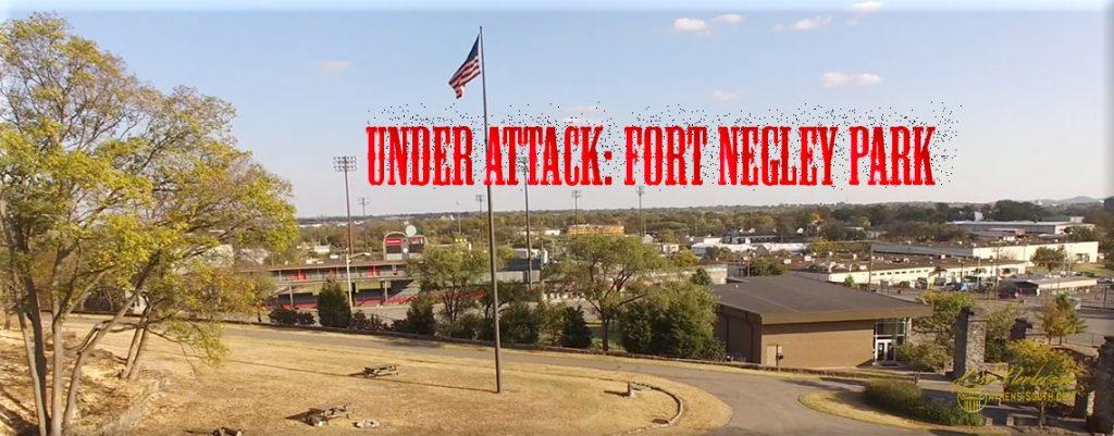 Fort Negley Desecration