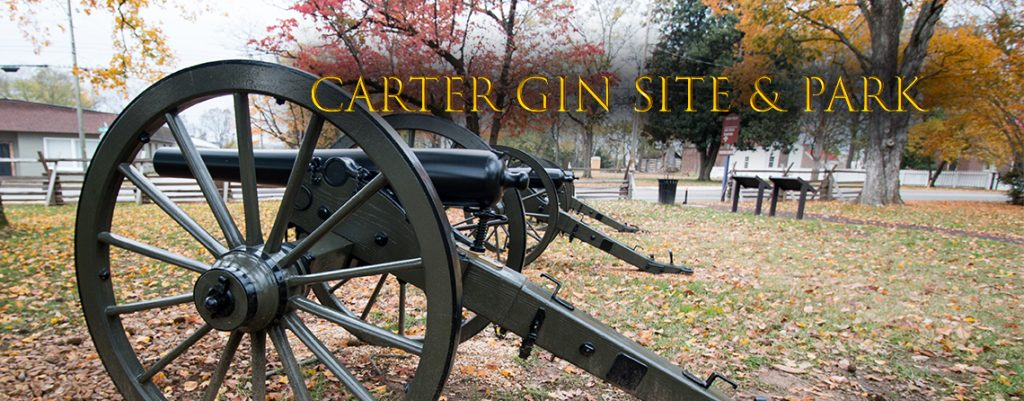 Carter Gin Site and Park