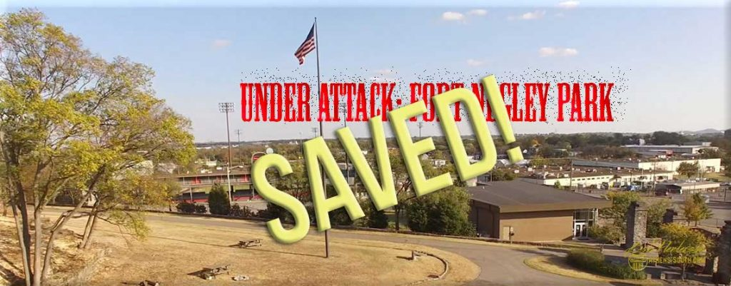 Fort Negley Park Saved